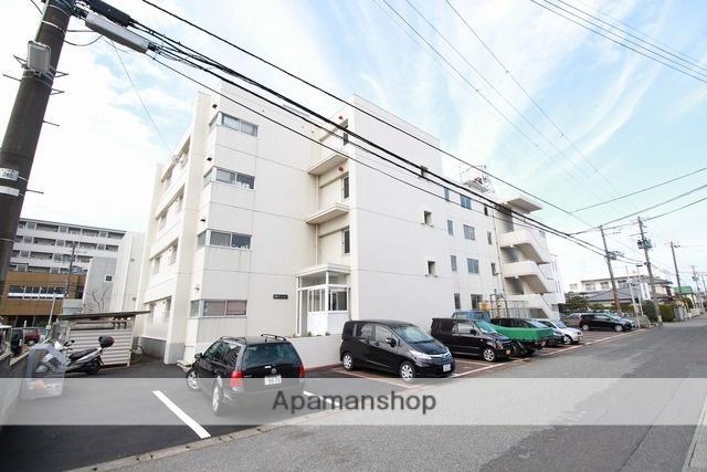 新潟県新潟市東区、越後石山駅徒歩10分の築37年 4階建の賃貸マンション