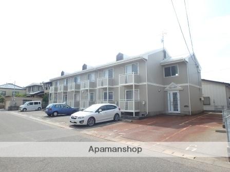 新潟県新潟市東区、越後石山駅徒歩12分の築26年 2階建の賃貸アパート