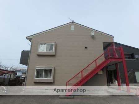 新潟県新潟市東区、新潟駅徒歩81分の築23年 2階建の賃貸アパート