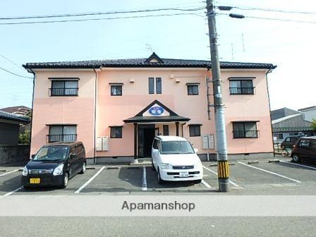 新潟県新潟市東区、越後石山駅徒歩20分の築23年 2階建の賃貸アパート