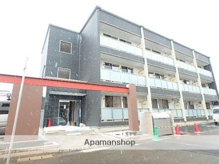 新潟県新潟市東区の築1年 3階建の賃貸アパート