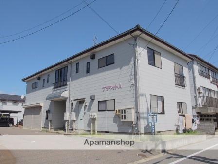 新潟県新潟市東区、越後石山駅徒歩44分の築17年 2階建の賃貸アパート