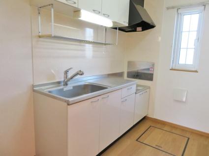 リープル[2LDK/60.24m2]のキッチン