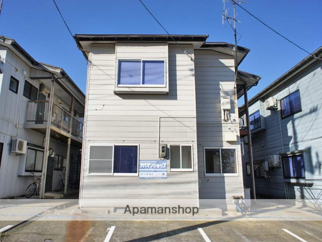 新潟県長岡市の築21年 2階建の賃貸アパート