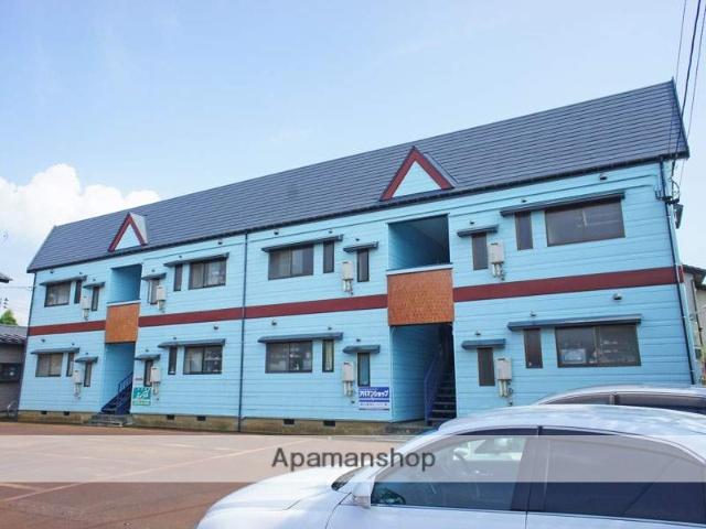 新潟県長岡市の築18年 2階建の賃貸アパート
