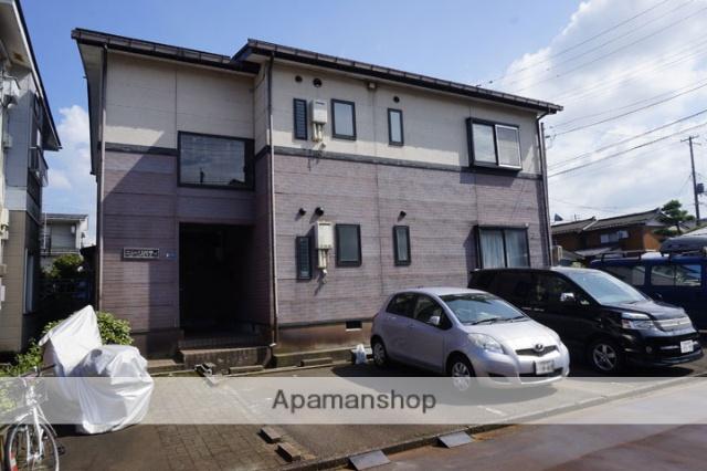 新潟県長岡市の築17年 2階建の賃貸アパート