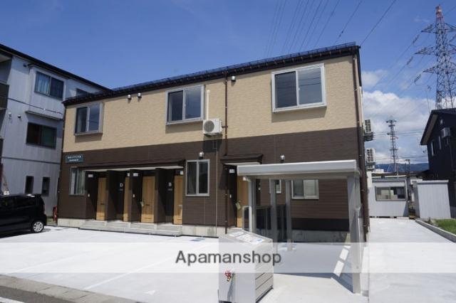 新潟県長岡市、長岡駅徒歩18分の新築 2階建の賃貸アパート