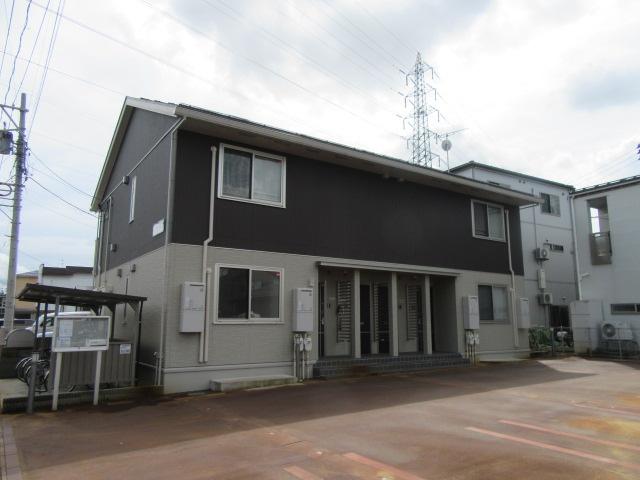 新潟県長岡市、長岡駅徒歩20分の築2年 2階建の賃貸アパート