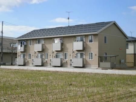 新潟県長岡市、長岡駅徒歩33分の築2年 2階建の賃貸アパート