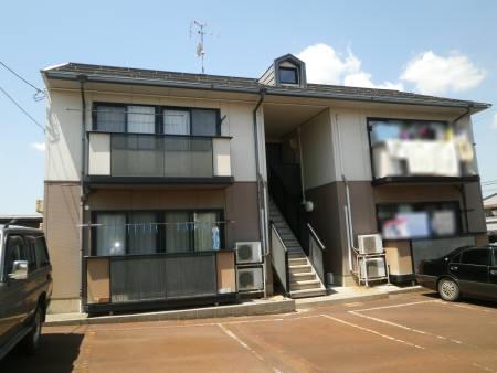 新潟県長岡市、長岡駅徒歩107分の築20年 2階建の賃貸アパート