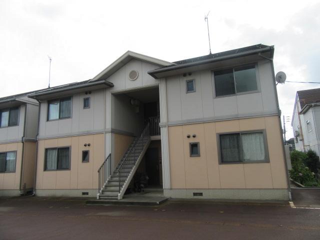 新潟県長岡市の築15年 2階建の賃貸アパート