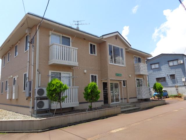 新潟県長岡市、長岡駅徒歩20分の築9年 2階建の賃貸アパート