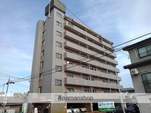 新潟県長岡市、長岡駅徒歩16分の築13年 8階建の賃貸マンション