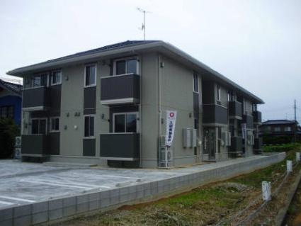 新潟県長岡市、押切駅徒歩22分の築4年 2階建の賃貸アパート