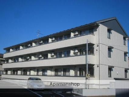 新潟県長岡市、長岡駅徒歩19分の築11年 3階建の賃貸アパート
