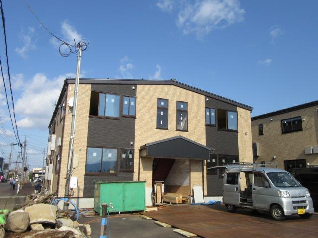 新潟県長岡市、北長岡駅徒歩24分の新築 2階建の賃貸アパート