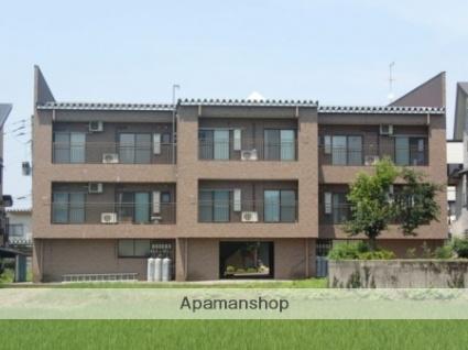 新潟県十日町市、しんざ駅徒歩7分の築17年 3階建の賃貸アパート