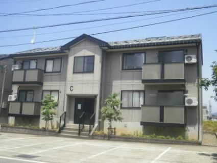 新潟県十日町市の築17年 2階建の賃貸アパート