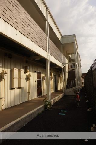 新潟県新潟市江南区、亀田駅新潟市バス15分下早通下車後徒歩1分の築2年 2階建の賃貸アパート