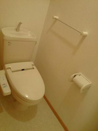 ヴィラ・ウィステリアB[2DK/44.82m2]のトイレ
