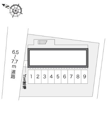 レオパレスRⅡ[1K/20.28m2]の内装1