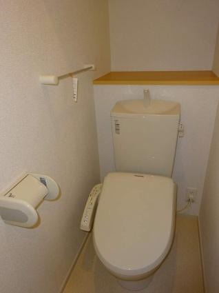 シークレット ベース[1K/30.79m2]のトイレ