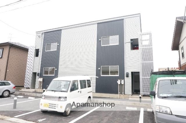 新潟県新潟市中央区、新潟駅徒歩45分の築1年 2階建の賃貸アパート