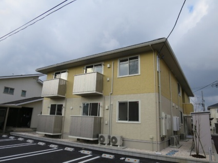 新潟県新潟市秋葉区あおば通2丁目[2LDK/55.39m2]の外観