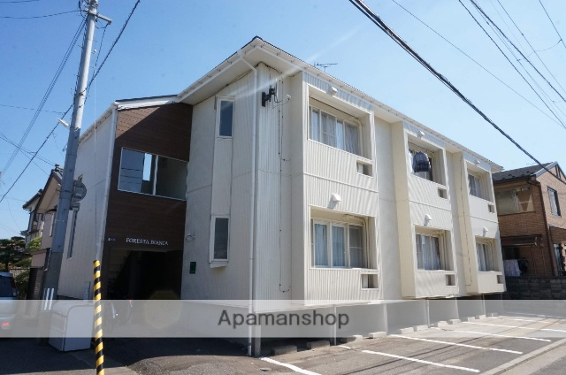 新潟県新潟市中央区、新潟駅徒歩37分の築27年 2階建の賃貸アパート