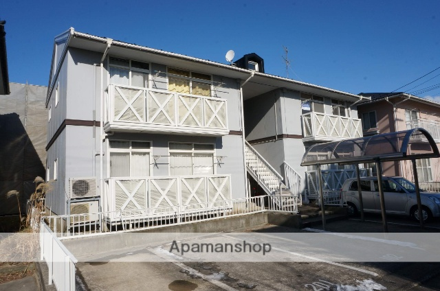 新潟県新潟市中央区、新潟駅徒歩38分の築27年 2階建の賃貸アパート