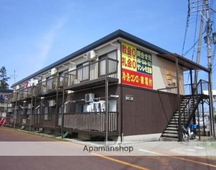 新潟県上越市、春日山駅徒歩34分の築18年 2階建の賃貸アパート