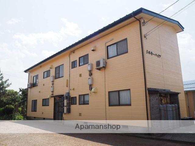新潟県上越市、黒井駅徒歩11分の築26年 2階建の賃貸アパート