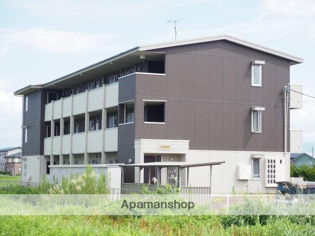 新潟県上越市、春日山駅徒歩21分の築4年 3階建の賃貸アパート