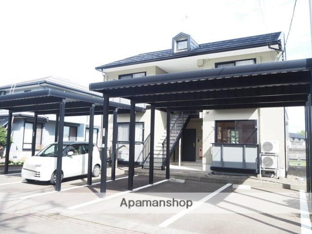 新潟県上越市、南高田駅徒歩18分の築17年 2階建の賃貸アパート