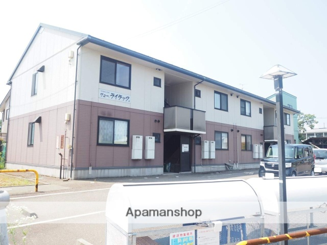新潟県上越市、春日山駅徒歩19分の築17年 2階建の賃貸アパート