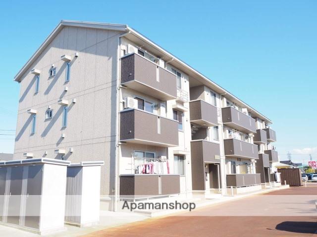 新潟県上越市、春日山駅徒歩30分の築1年 3階建の賃貸アパート