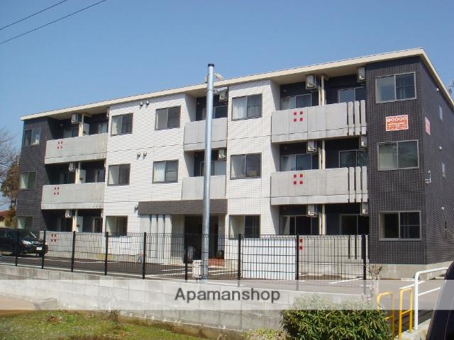新潟県上越市、高田駅徒歩10分の築4年 3階建の賃貸マンション