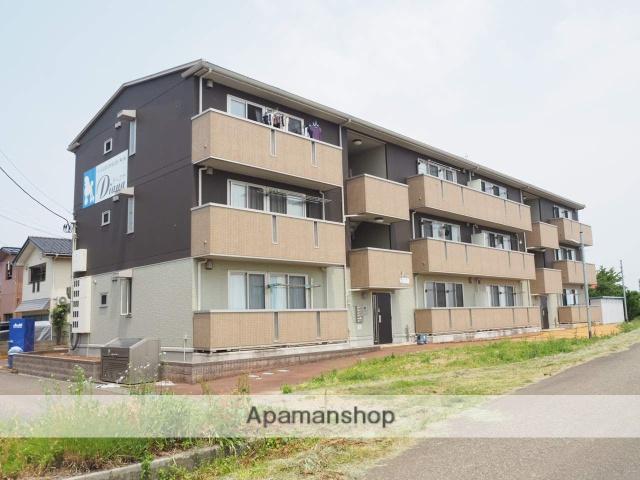 新潟県上越市、直江津駅徒歩23分の築7年 3階建の賃貸アパート