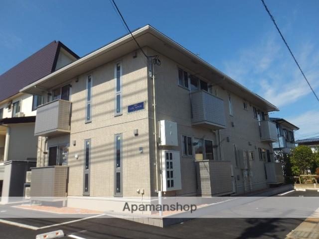 新潟県上越市、春日山駅徒歩14分の築2年 2階建の賃貸アパート