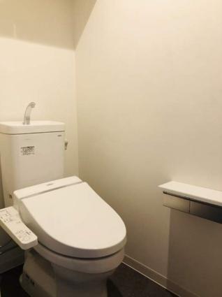 新潟県新潟市中央区東万代町[2LDK/65.08m2]のトイレ