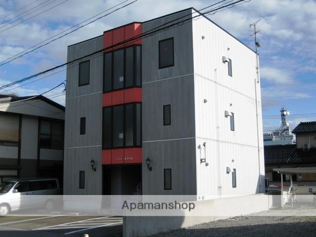 富山県富山市、安野屋駅徒歩17分の築20年 3階建の賃貸マンション