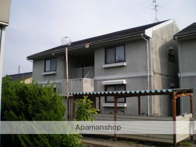 富山県富山市の築32年 2階建の賃貸アパート
