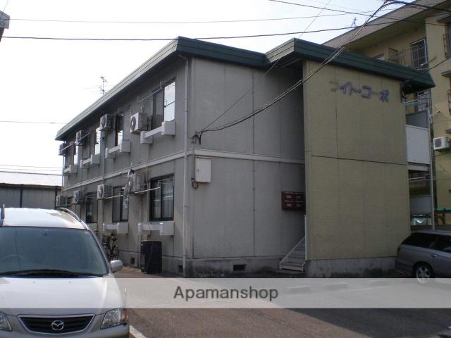 富山県富山市の築29年 2階建の賃貸アパート