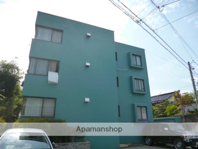 富山県富山市、稲荷町駅徒歩10分の築29年 3階建の賃貸マンション