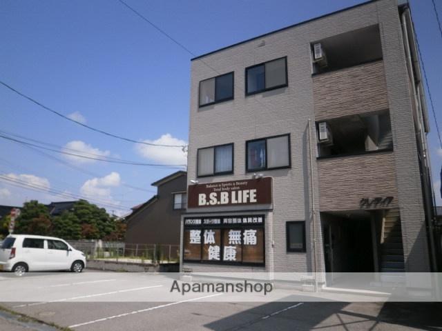 富山県富山市、小泉町駅徒歩9分の築17年 3階建の賃貸マンション
