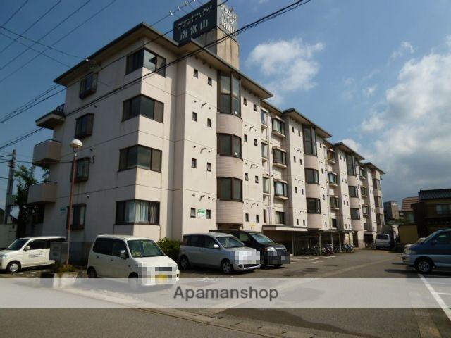 富山県富山市、南富山駅徒歩5分の築26年 4階建の賃貸マンション