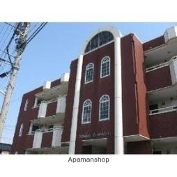 富山県富山市、南富山駅徒歩3分の築26年 3階建の賃貸アパート