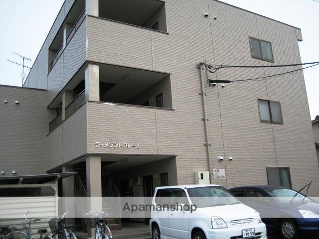富山県富山市、富山トヨペット本社前駅徒歩5分の築21年 3階建の賃貸マンション