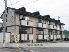 富山県富山市の築23年 2階建の賃貸アパート