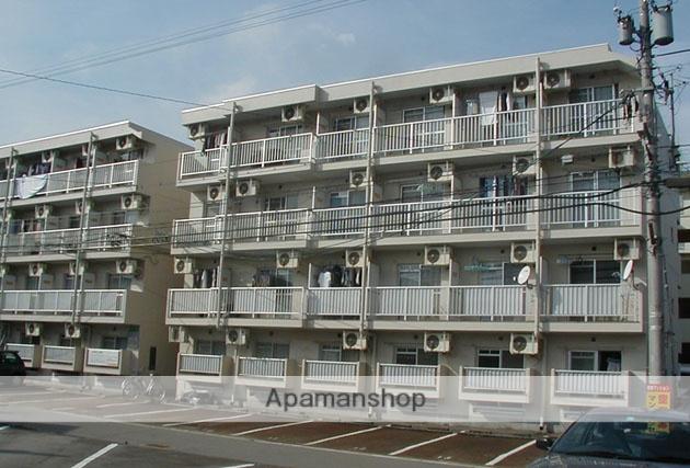 富山県富山市、西富山駅徒歩6分の築30年 4階建の賃貸マンション